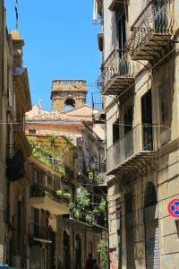 イタリアのパレルモの街並み