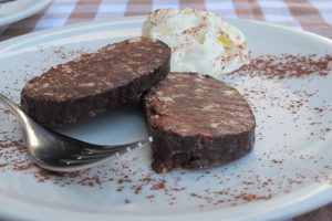 チョコレートのサラミ