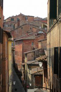 イタリアのシエナの街並み