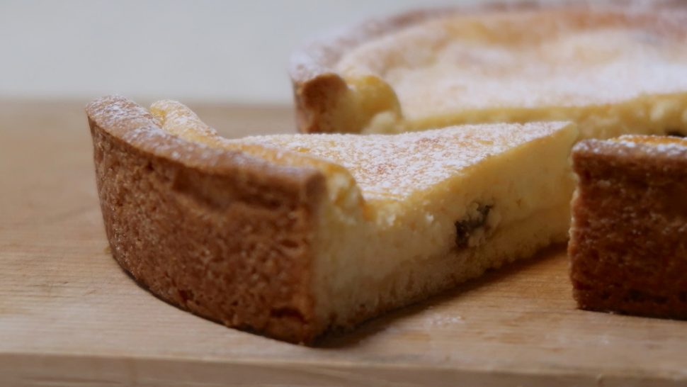 リコッタチーズのタルト