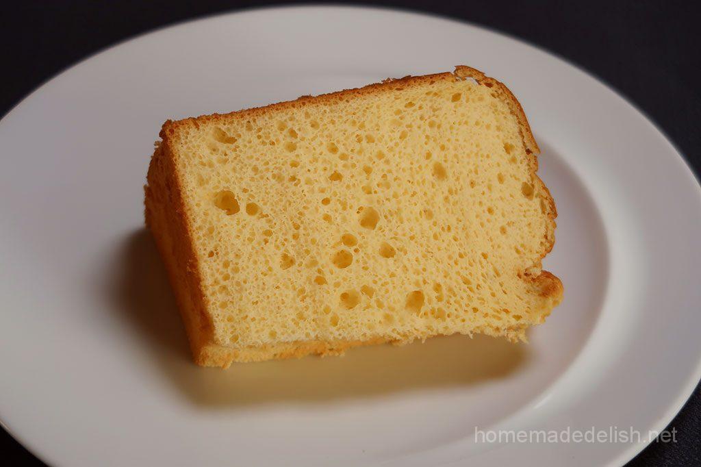 クリームチーズのシフォンケーキ