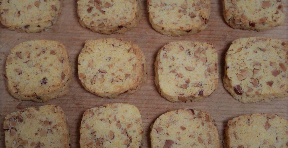 とうもろこし粉のクッキー