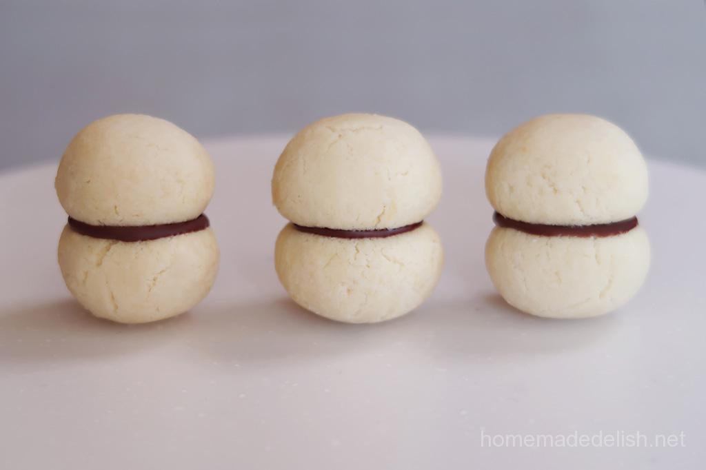 チョコサンドクッキー:バーチ・ディ・ダーマ