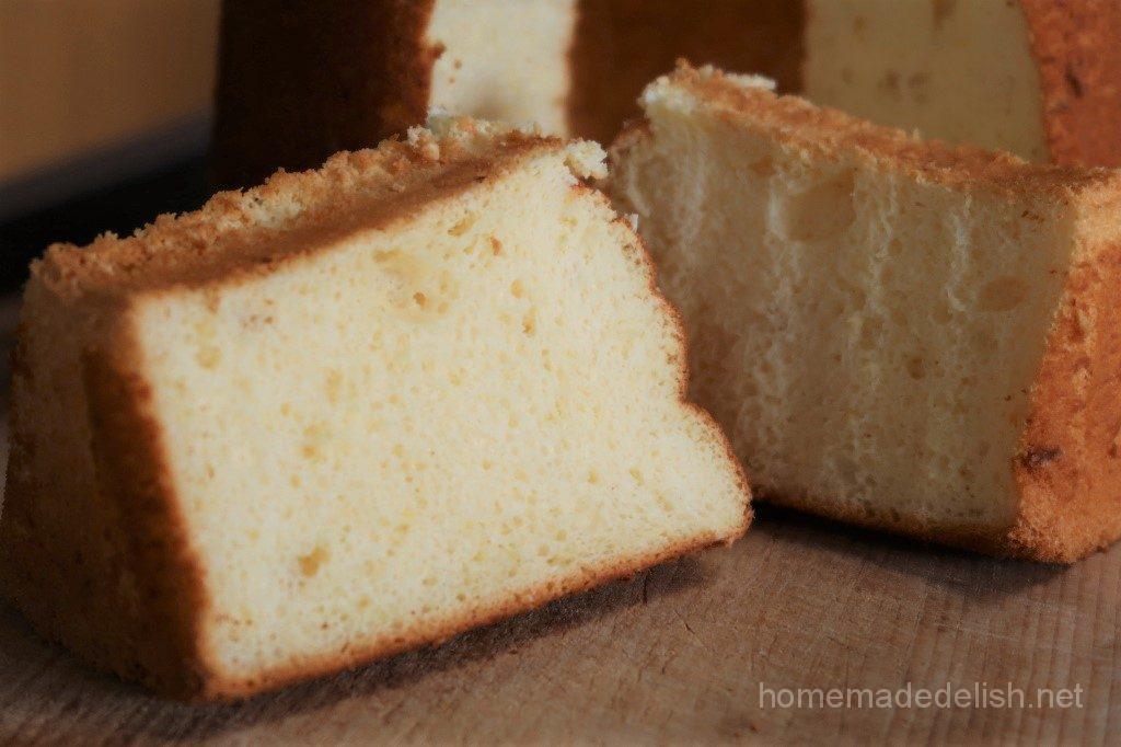 レモンシフォンケーキ 膨らまない