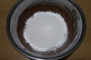 大人のチョコレートシフォンケーキのレシピ