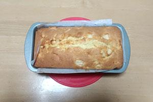 りんごのパウンドケーキのレシピ
