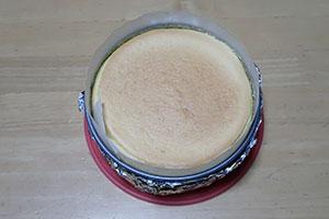とろけるスフレチーズケーキのレシピ