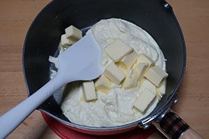 スフレチーズケーキのレシピ