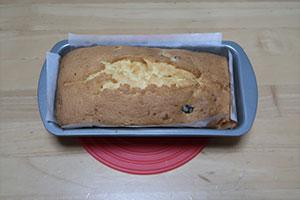 ブルーベリーとみかんのパウンドケーキのレシピ