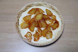 りんごとカスタードクリームのタルトのレシピ